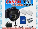 Canon EOS Rebel T3i 600d Digital SLR Camera with Ef-s 18-135mm F/3.5-5.6 Is Lens 2x Extended