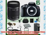 Canon EOS Rebel T5i Digital SLR Camera and Canon EF 18-135mm IS STM Lens   16GB Green's Camera