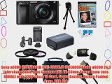 Sony a6000 ILCE6000LB ILCE-6000L/B ILCE6000 Alpha a6000 24.3 Interchangeable Lens Camera with