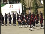Passing out parade of Counter Terrorism Force at Elite Police Training School Lahore.