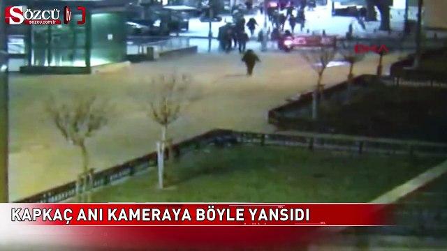 Kadıköy'de motosikletli kapkaç dehşeti kamerada