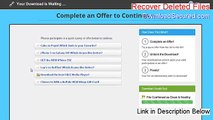 Recover Deleted Files Keygen [Download Here]