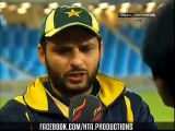 Shahid Afridi With Ramiz Raja After Match Funny Interview