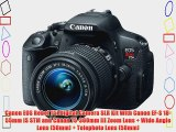 Canon EOS Rebel T5i 18.0 MP CMOS Digital Camera SLR Kit With Canon EF-S 18-55mm IS STM   Canon
