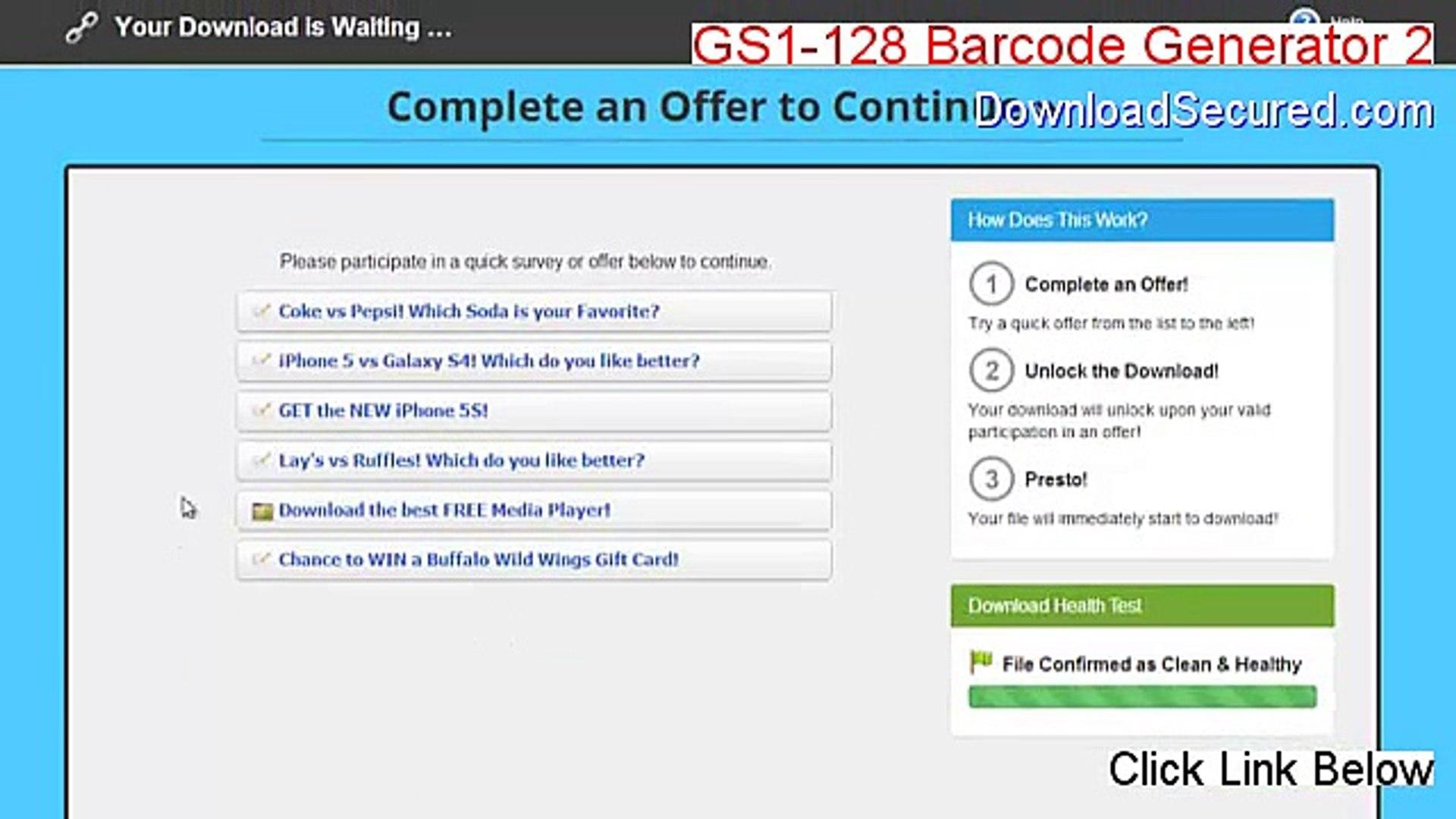 GS1-128 Barcode Generator 2 Download - GS1-128 Barcode Generator 2gs1-128  barcode generator 2