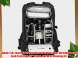 Targus TGK-CK610 Universal DSLR Camera Starter Kit with Ramses Back Pack Bag 58 Tripod and