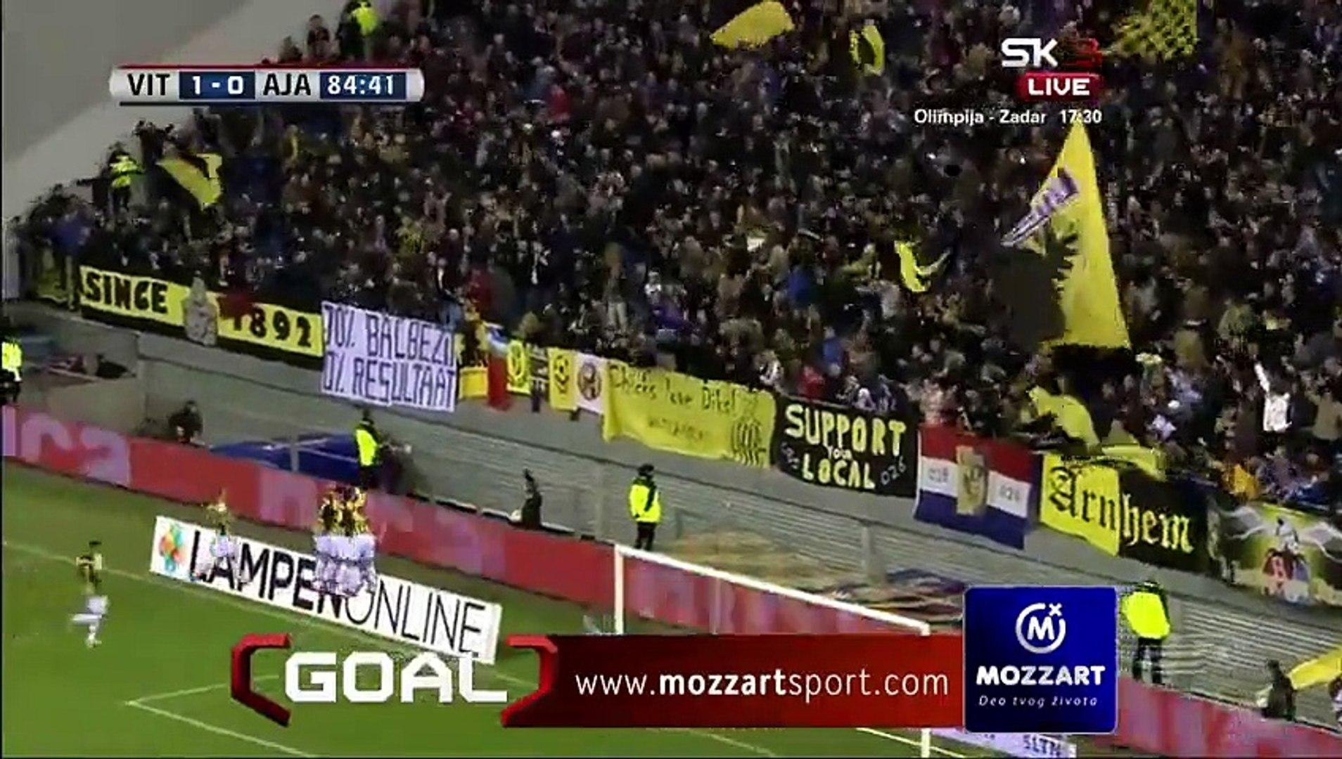 Vitesse 1 - 0  Ajax All Goals and Full Highlights 01/02/2015 - Eredivisie