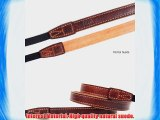 Ciesta CSS-L15-A07 Leather Camera Strap L15 for RF Compact Mirrorless Camera Giano Brown
