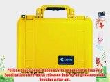 Pelican 1450 Case w/Foam (Yellow)