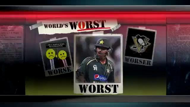Haris sohail is Worst Ever Sports Man – US TV Report