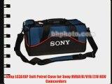 Sony LCZA1BP Soft Petrol Case for Sony HVRA1U/V1U/Z1U HDV Camcorders