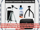 Essential Accessory Kit For Panasonic HDC-TM900K HDC-HS80K HDC-HS900K HDC-SD40K HDC-SD800K