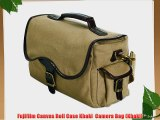 Fujifilm Canvas Roll Case Khaki  Camera Bag (Khaki)
