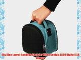 Sky Blue Laurel Handbag Case for Nikon Coolpix L830 Digital SLR Camera