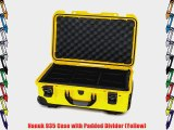 Nanuk 935 Case with Padded Divider (Yellow)