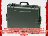 Nanuk 945 Case with Cubed Foam (Olive)