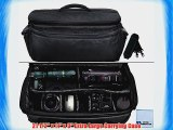 Extra Large Soft Padded Camcorder Equipment Bag / Case For Panasonic AG-HPX300 AG-HPX370 AG-HPX500