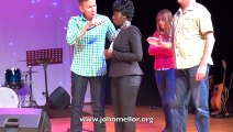 Painful fibroids & spinal injury healing in Sydney - John Mellor Healing Ministry