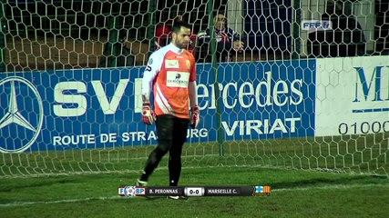 FC Bourg Péronnas 2-0 Marseille Consolat (30-01-15)
