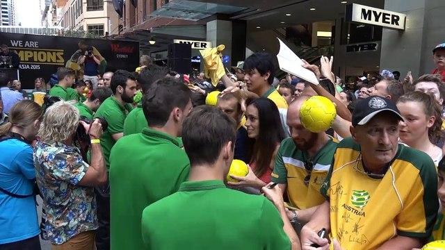 Overwhelmed Postecoglou honours squad spirit