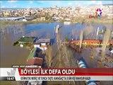 Böylesi ilk defa oldu Edirne'de Meriç ve Tunca Nehri taşınca 5 Bin kişi mahsur kaldı