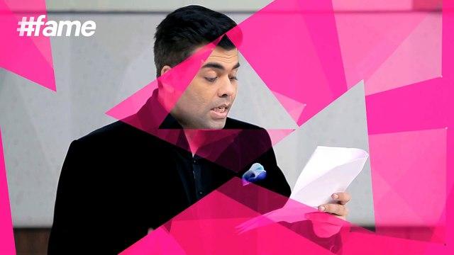 Karan Johar reveals his Style Secrets #LakmeSchoolOfStyle