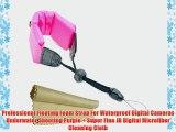 Professional Floating Foam Strap For Waterproof Digital Cameras Underwater Shooting Purple