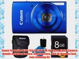 Canon PowerShot ELPH 150 IS 20MP 10x Opt Zoom Digital Camera Bundle includes: Camera Carrying