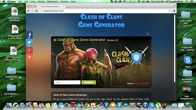 Coc Free Gems Hack No Activation Code