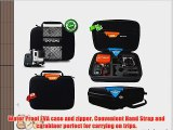 Protect your Gopro investment! NEW! Extreme Weather Proof Black POV travel and carry case for