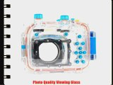 Polaroid Dive Rated Waterproof Underwater Housing Case For Canon Powershot G11 G12 Digital