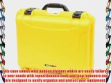 Nanuk 930 Case with Padded Divider (Yellow)