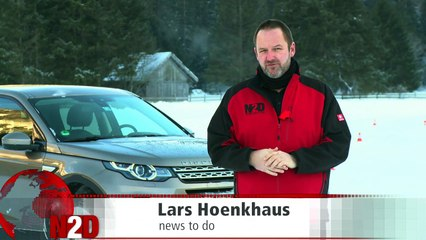 Land Rover Discovery Sport - Video Fahrbericht