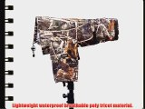 Neewer? Camera Lens Coat Camouflage Rain Cover Raincoat for DSLR Camera with Lens from 300mm