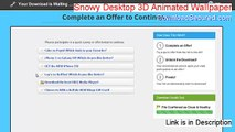 Snowy Desktop 3D Animated Wallpaper & Screensaver Cracked (Download Now)
