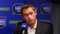 Stéphane Beaudet  maire UMP de Courcouronnes invité politique de France Bleu 107.1 et Metronews