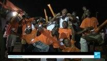 CAN 2015 - La Côte d'Ivoire en liesse après la victoire des Éléphants contre l'Algérie.