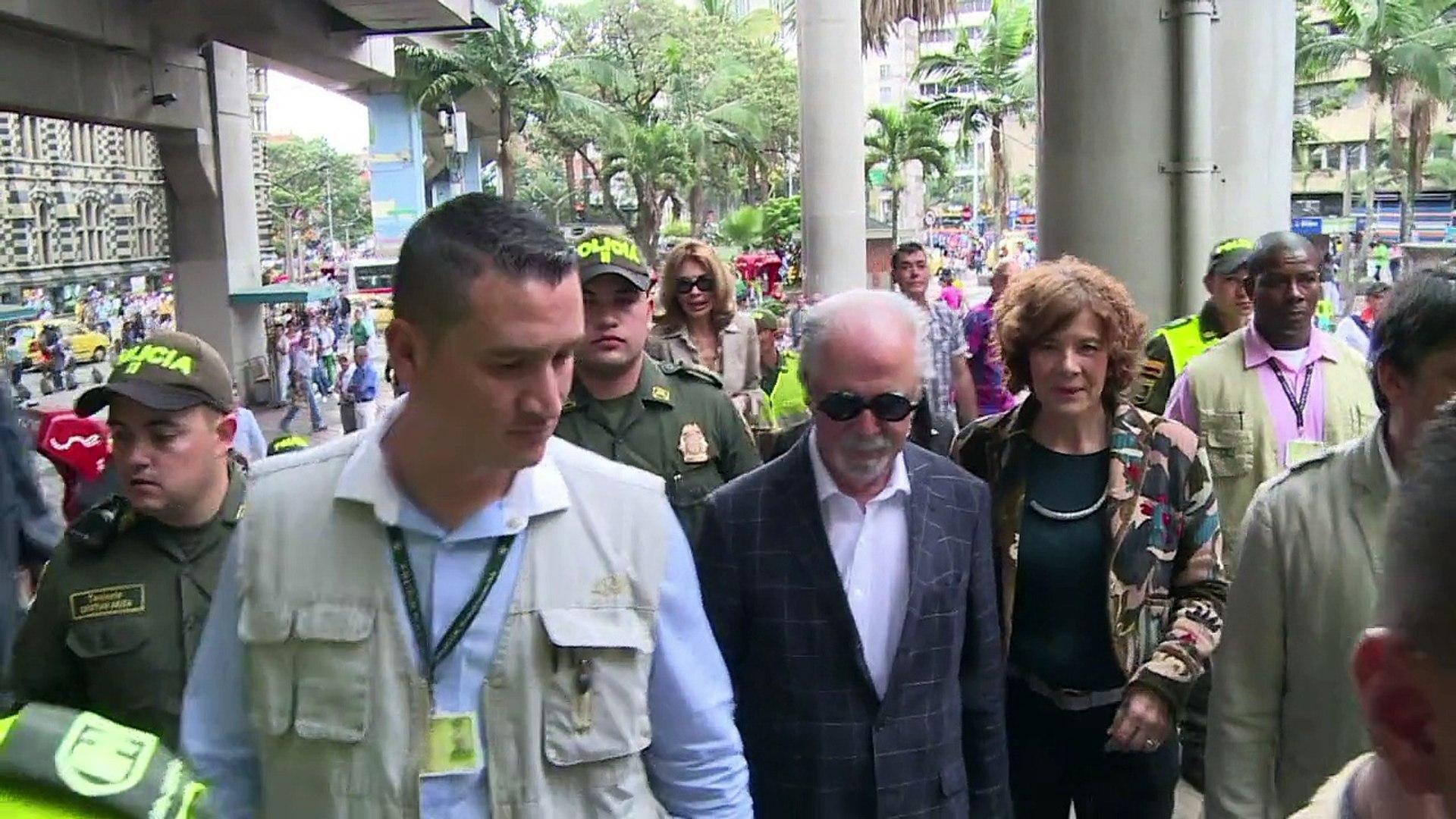 Botero expone en metro de Medellín