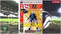 Benzema encensé par la presse espagnole !