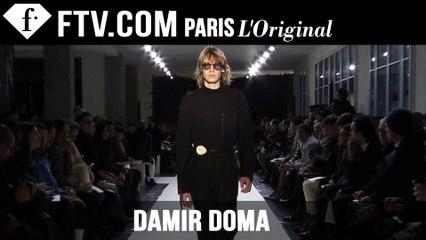 Damir Doma Men Fall/Winter 2015-16 | Paris Men's Fashion Week | FashionTV