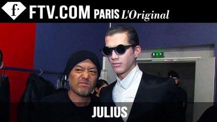 Julius Designer's Inspiration | Paris Men's Fashion Week Fall 2015-16 | FashionTV