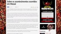 Flamengo responde confusão de torcedores em Macaé