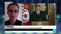 TUNISIE - Nidaa Tounès et Ennahda s'associent pour former le nouveau gouvernement