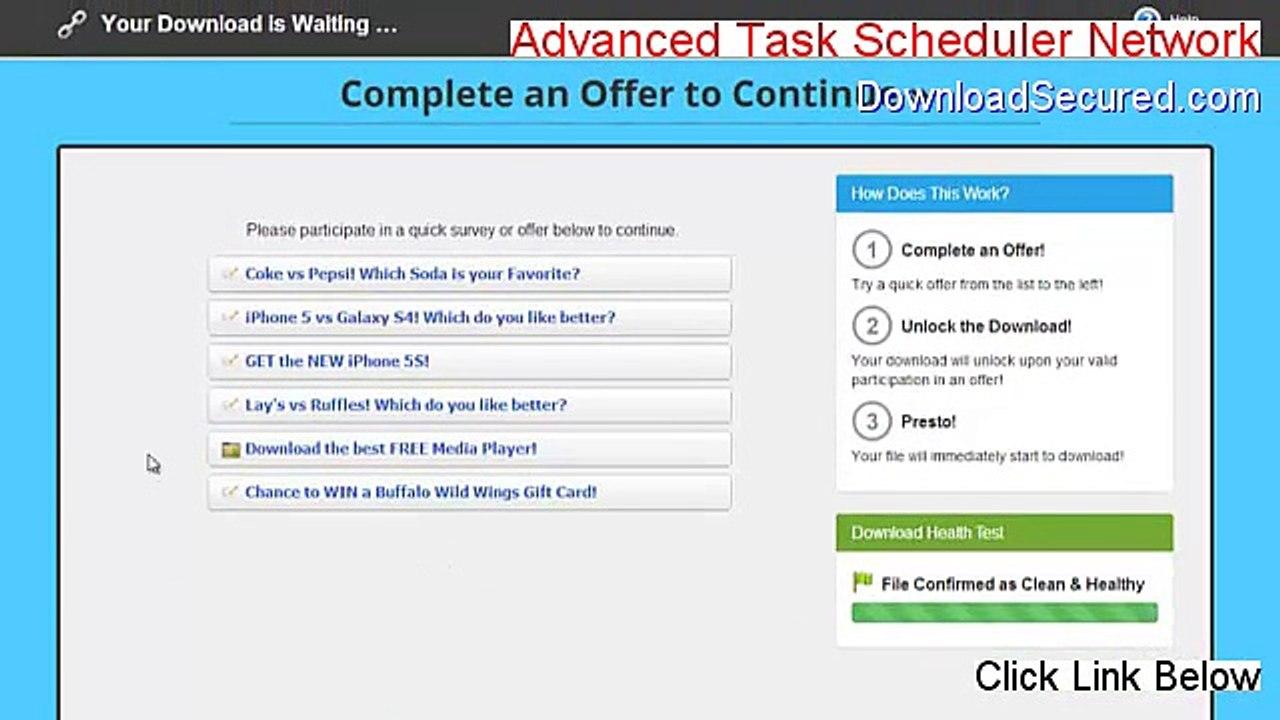 Advanced Task Scheduler Network Cracked (Download Now)