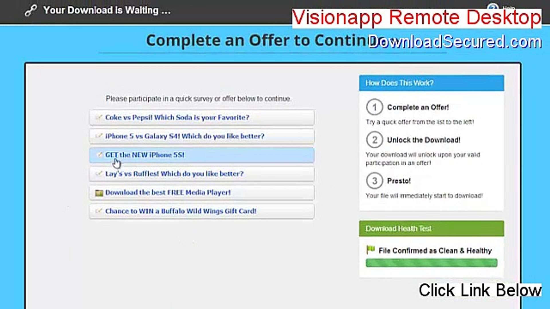 Visionapp Remote Desktop Keygen [Free of Risk Download]