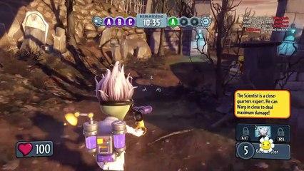 Plants vs Zombies Garden Warfare Gnome Bomb All Star Scientist Foot Soldier Playstation 4 HD # 5 p