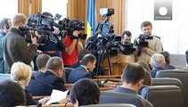 Ucraina, fuga dalle città in guerra