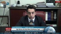 Ağrı Barosu Ali Artuk Basın Açıklaması Yaptı