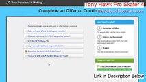Tony Hawk Pro Skater 4 Keygen (Download Here)
