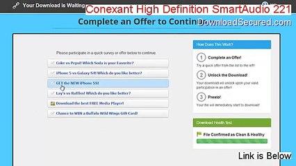 Gateway MX6120 Conexant Audio Drivers Download Free
